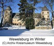 Bild Wewelsburg im Winter, Copyright: Archiv Kreismuseum Wewelsburg