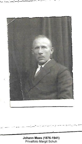 Johann Maes (1876-1941), Privatfoto Margit Schuh