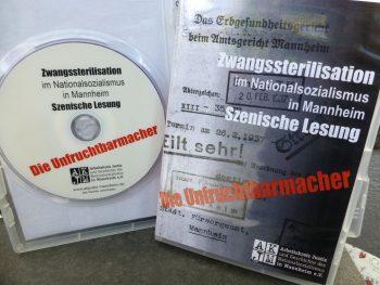 "Werbebild DVD ""Die Unfruchtbarmacher"" szenische Lesung AKJM Mannheim"