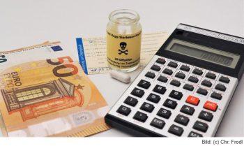 Symbolbild sterbehilfe-Kosten-Nutzen-Rechnung
